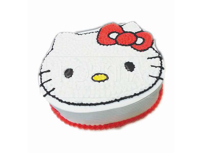 CS004   Red Ribbon Hello Kitty