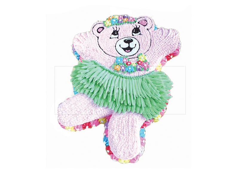 CS067   Green Skirt Bear