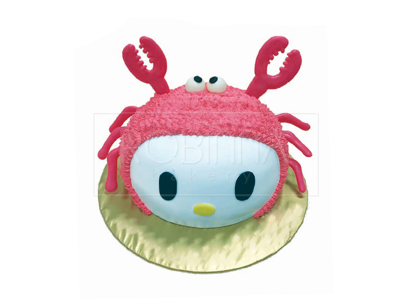 CS093  Hello Kitty in Crab